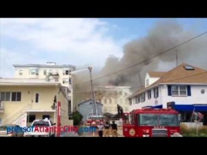 Bellevue Hotel fire Ocean City, NJ