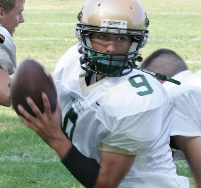 Pinelands QB Mike Keller