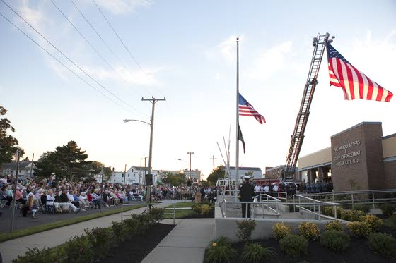 Ocean City dedicates 9/11 monument with help of children born after attacks