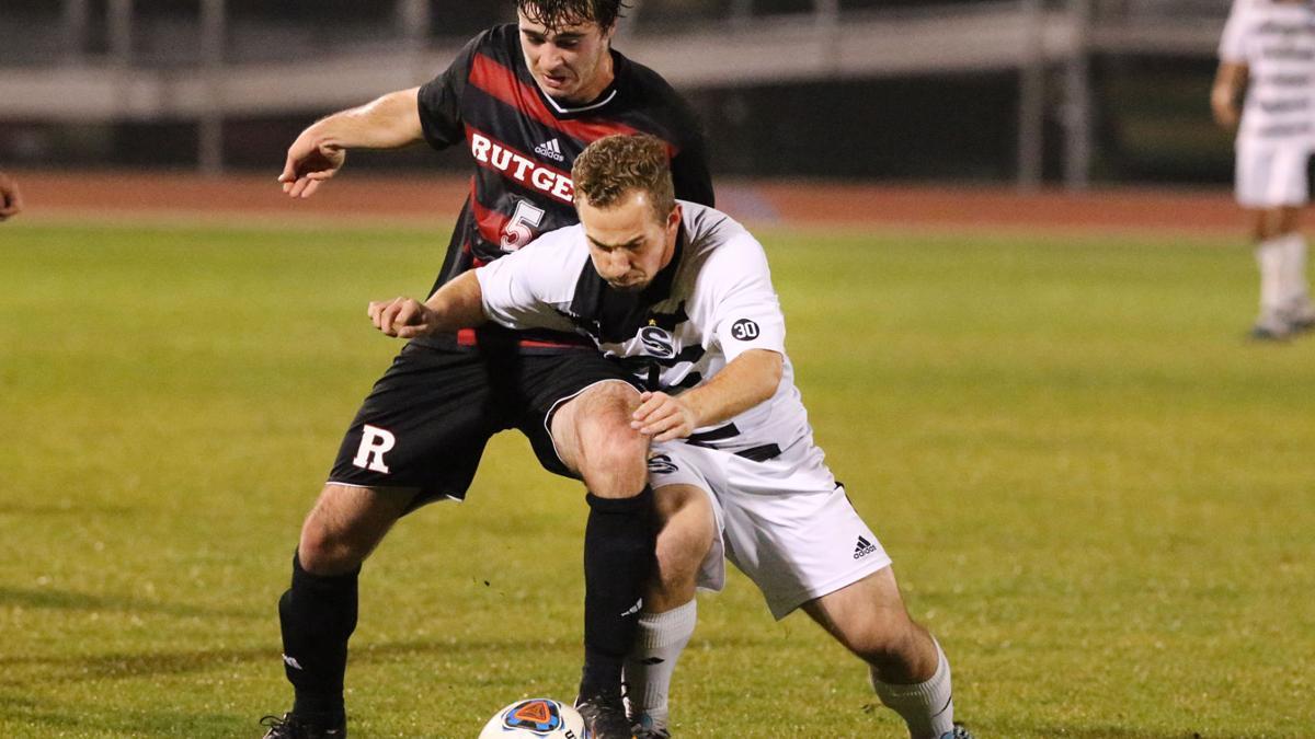 Rutgers-Camden at Stockton Men's Soccer semifinal of the NJAC Tournament