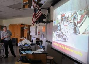 Absegami students get to learn physics of traffic accidents