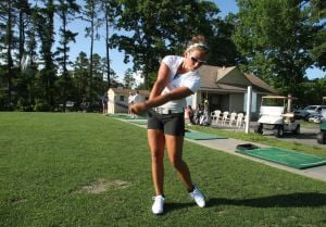 Kasey Frazier golf feature