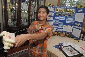 Belhaven seventh-grader makes mark at regional, out-of-state science fairs