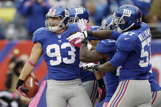 Giants just haven't been the same on 'D'