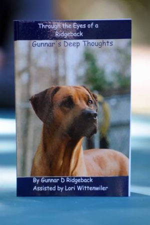 EHT Woman Becomes Writer To Chronicle Antics Of Gunnar, A Rhodesian Ridgeback: The book is available in print and as an eBook on Amazon. - Dave Griffin