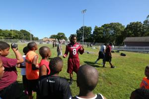Kaiwan Lewis football camp