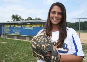 Softball: Brittany Scott saves best for last, repeats as Press Player of the Year