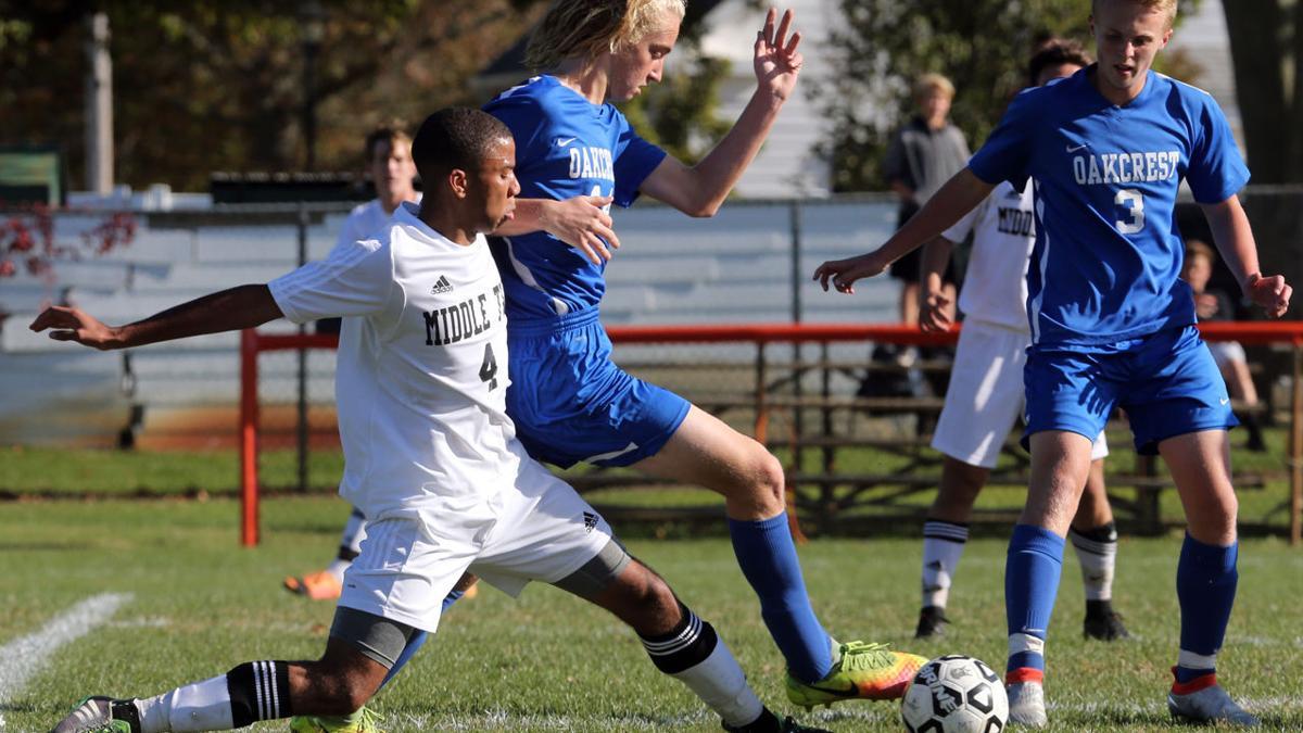 Oakcrest vs Middle Township Boys Soccer