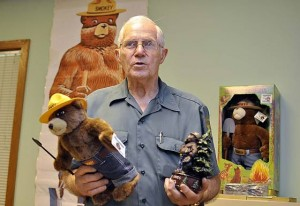 Smokey Bear has big birthday bash each year at Belleplain State Forest