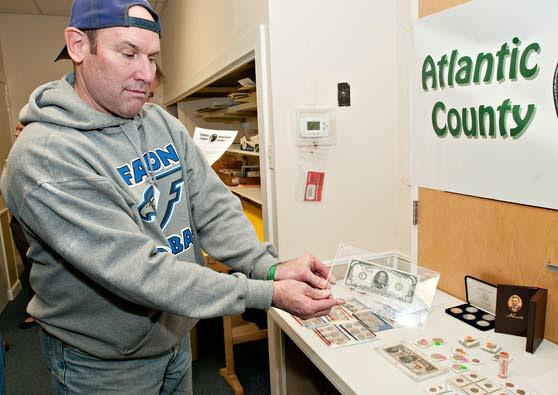 Atlantic County Numismatic Society can put a bit of history into your hand