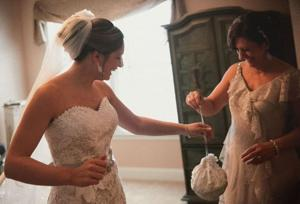 Wedding redux: Ventnor lace worker gives heirloom gowns new life