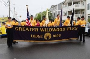 Local Elks lodges celebrate centennial of N.J. group with parade in Wildwood