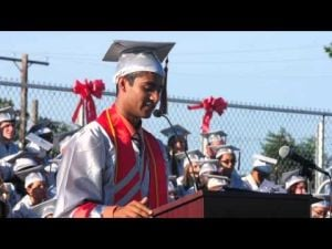 Vineland High School Valedictorian Speech