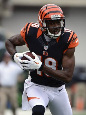 David Weinberg's Weekly NFL Team Rankings: Wide receiver A.J. Green and the Cincinnati Bengals are on the move. The Bengals climbed from 17th to 12th in this week's rankings.