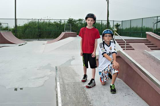 Sea Isle City opens its new skatepark built of concrete, metal at Dealy Field