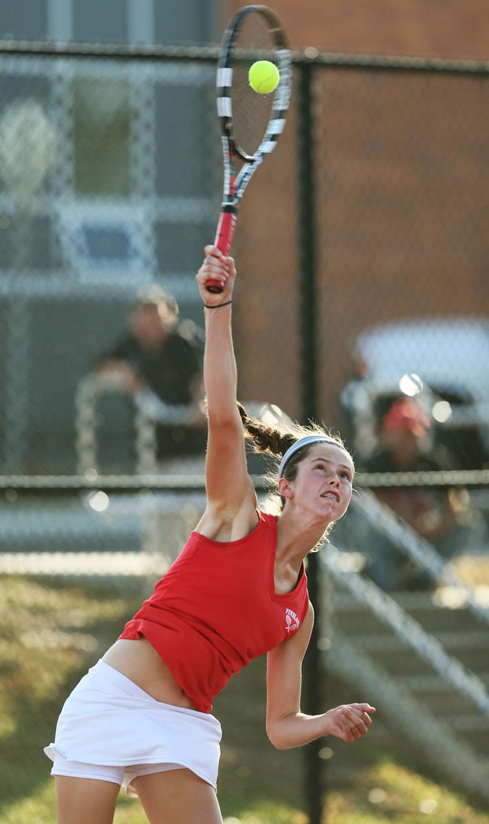 an overview of the sport tennis singles and doubles The following outline is provided as an overview of and topical guide to tennis: tennis – sport usually played between two players ( singles ) or between two teams of two players each ( doubles ).