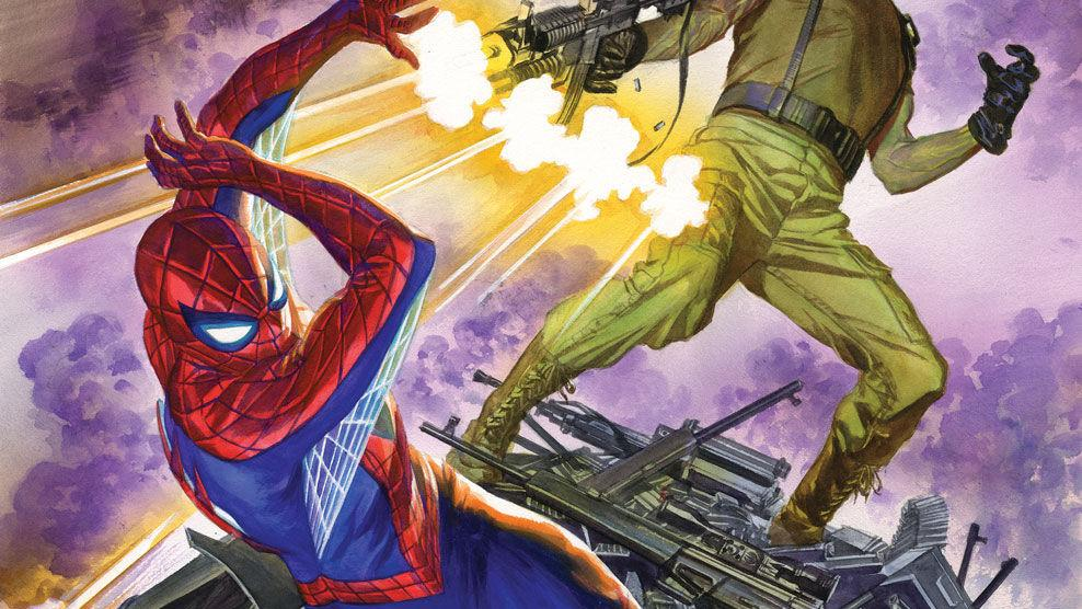 Preview art of Amazing Spider-Man #25, out 15