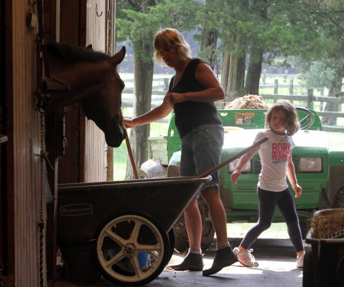 Summer Camp In Dennis Township Not All Just Horseplay