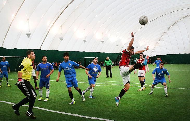 Hispanic indoor soccer league