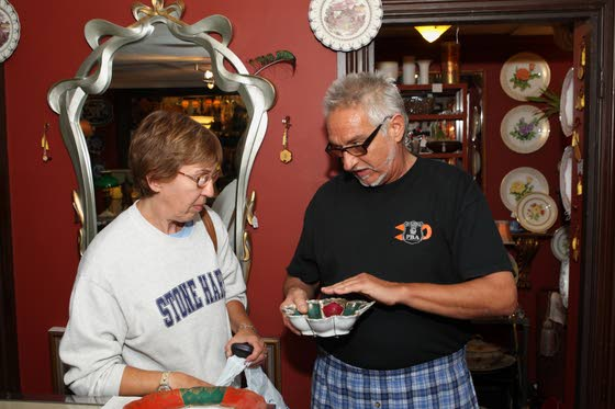 Visiting Cape's  antiques alleyIn fall, Route 9  is filled with  folks shopping  for treasures  and bargains
