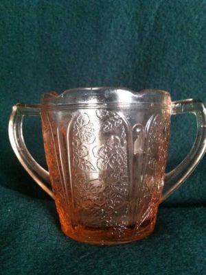 Antiques & Collectibles: Children's Depression Glass Charms Collectors: Caption