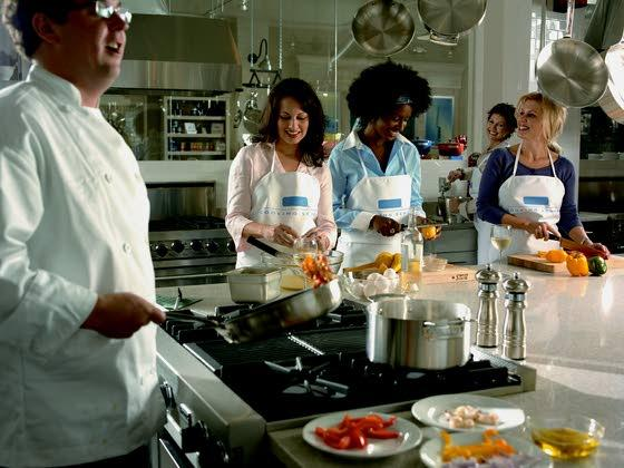 Teaching home cooks how to prepare some tasty holiday cheer