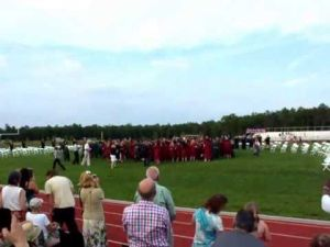 Cedar Creek High School graduation