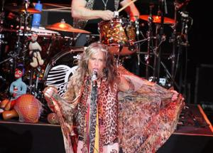 Aerosmith performs at Revel