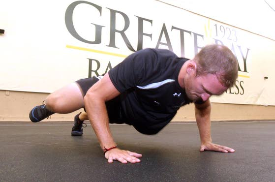 Your Workout: Spiderman Pushup