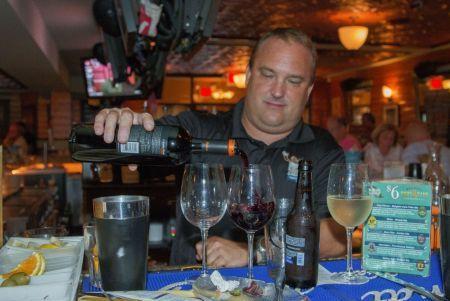 Sandi Bistro bartender