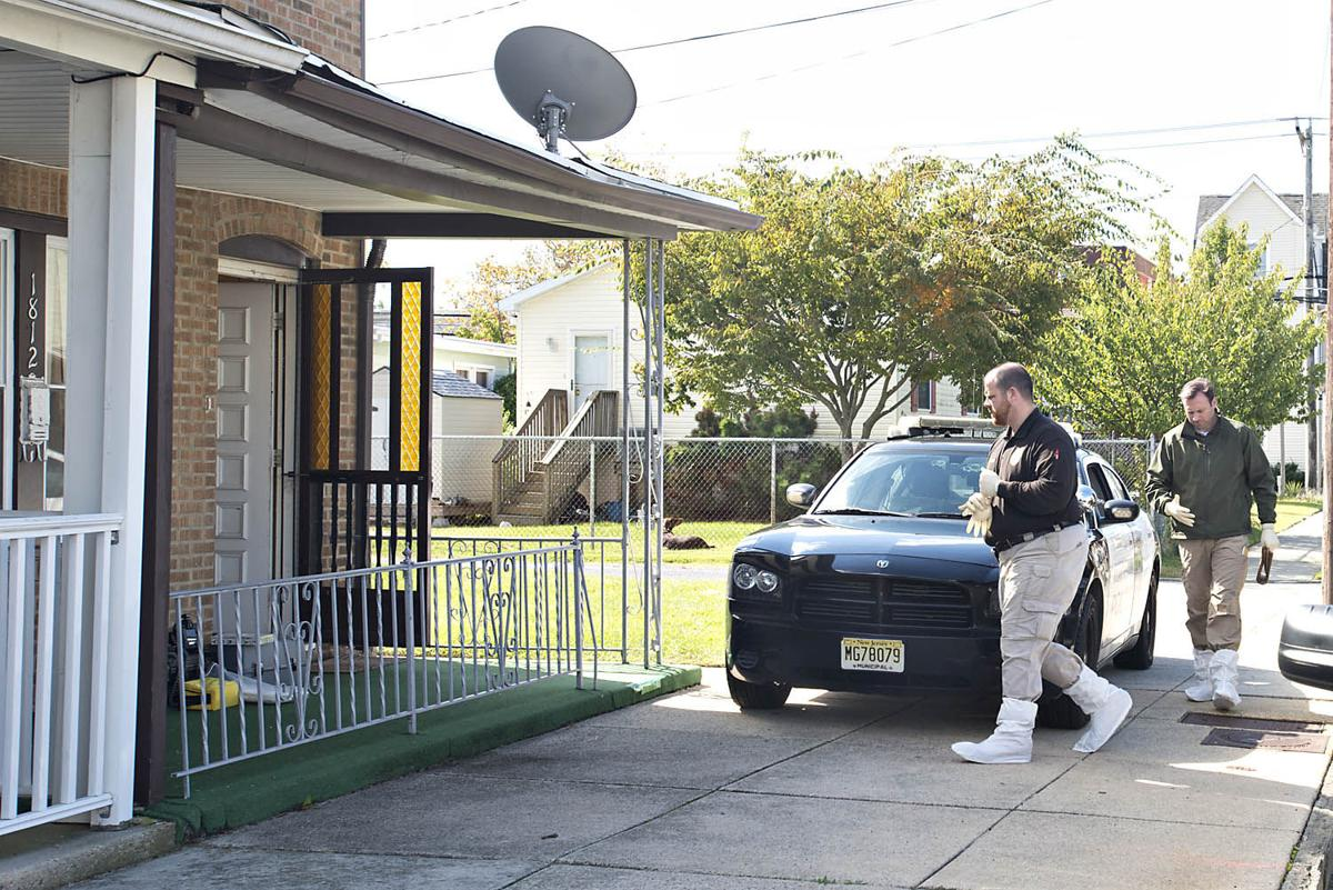 Investigators at scenen of Atlantic City possible homicide