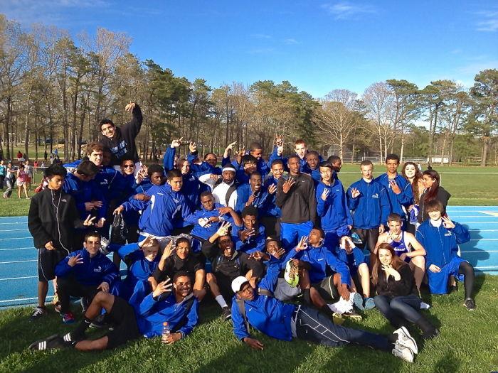 Oakcrest track team