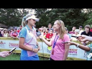 Lexi Thompson Final Round Interview from the 2012 ShopRite LPGA Classic