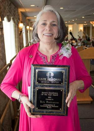 Giving Back briefs: Cape Regional Medical Center names volunteer of the year