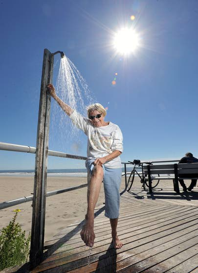 Sand in my shoes: Boardwalk showers keep it feeling like summer even as calendar rolls on