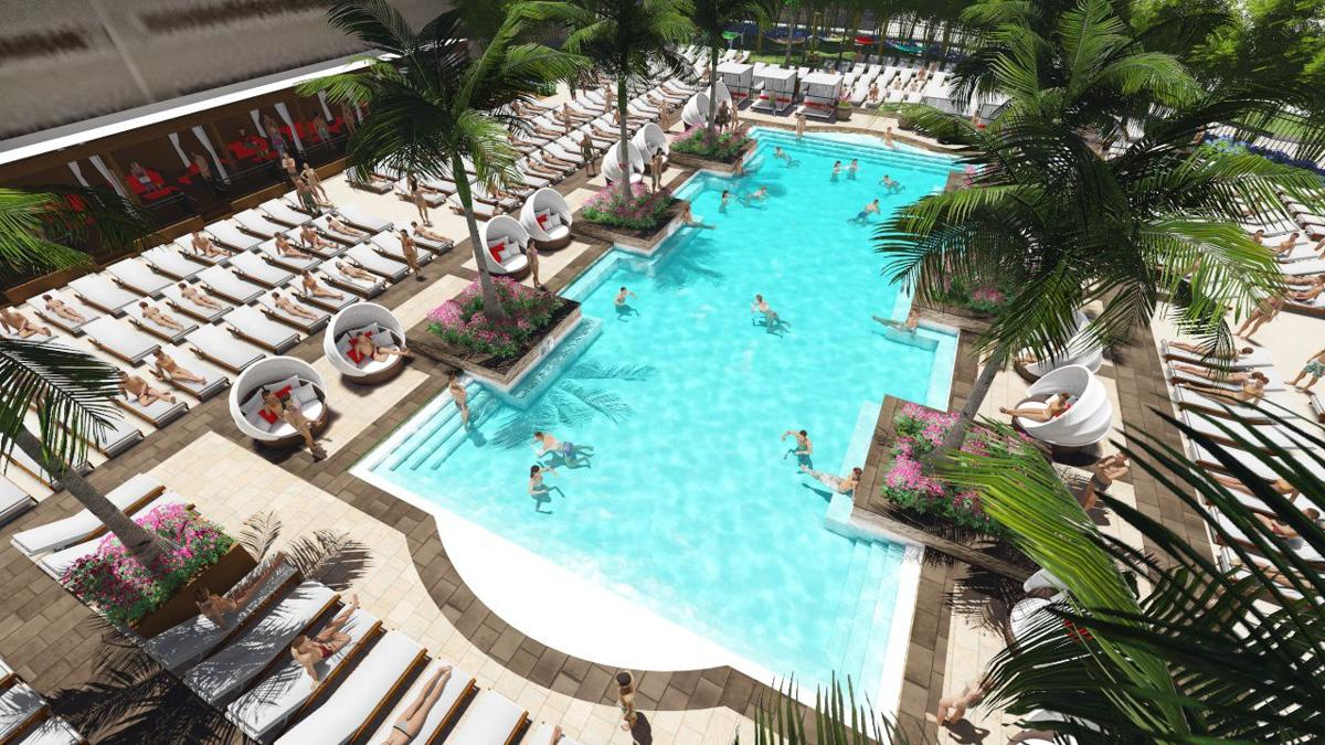 Borgata adds beer garden outdoor pool and marketplace for Garden city swimming pool