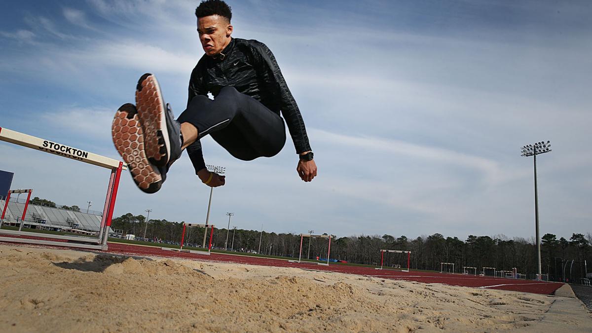 Jared Lewis Stockton Triple Jumper
