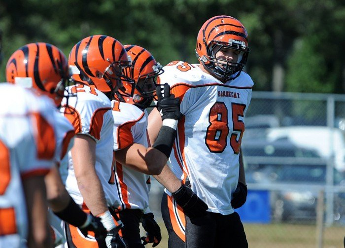 barnegat vs. lacey football