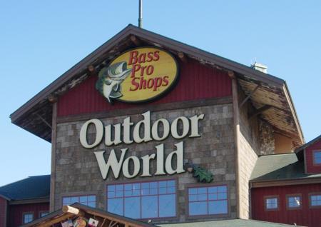 Bass Pro Shops arrives Wednesday, April 15