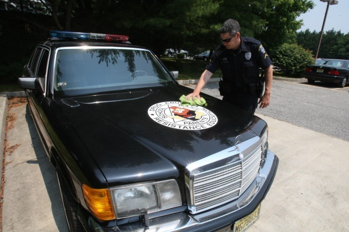 Tricked Out Mercedes Benz Is Egg Harbor Township Police S