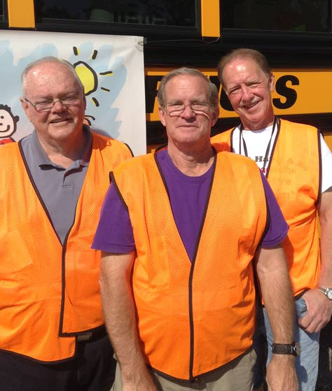 Bus drivers from Little Egg bring supplies to Oklahoma and other news of the volunteer community