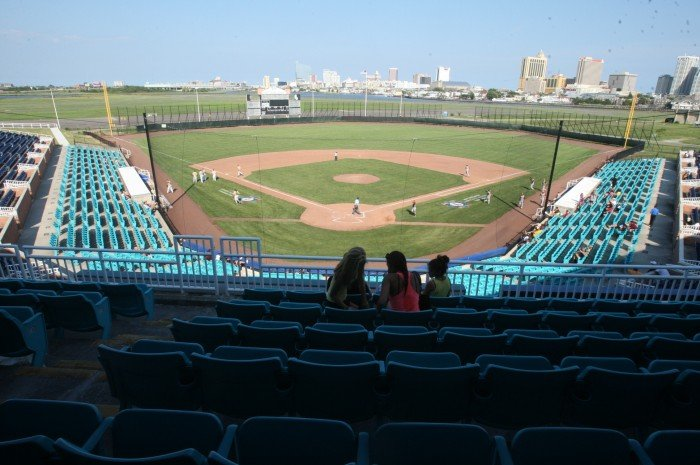 Baseball at Surf Stadium