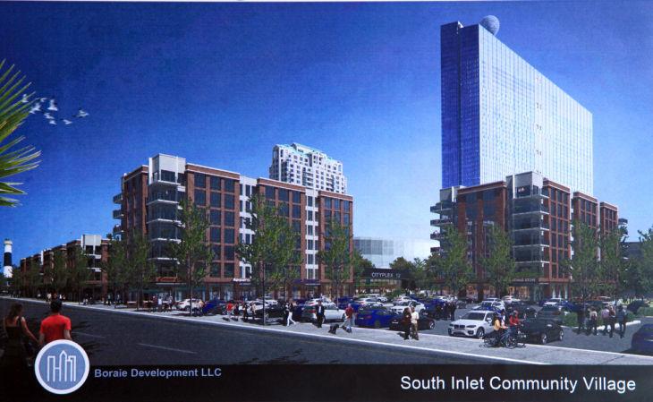 South Inlet Plan