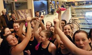 South Jersey girls swimming finals