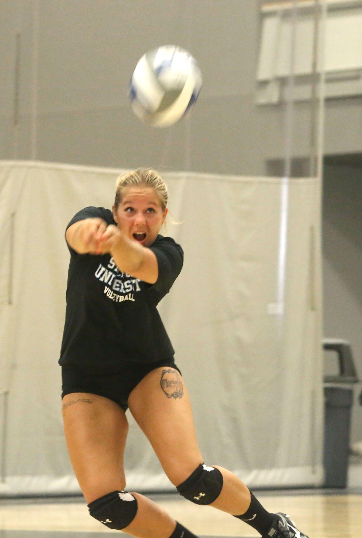 Stockton women's volleyball