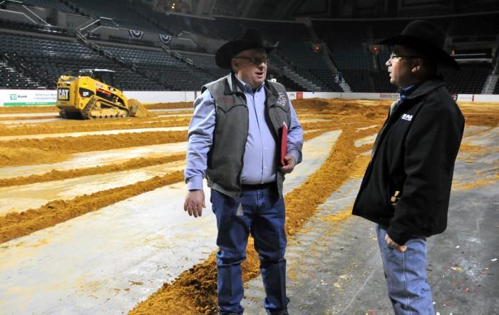 Rodeo dirt