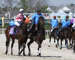 Day At The Races: Sunday April 27 2014 Live turf racing at the Atlantic City Racecourse in Mays Landing. (The Press of Atlantic City / Ben Fogletto) - Ben Fogletto