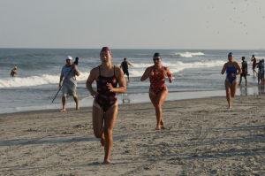 Women Lifeg: Ocean City Beach Patrol Women's Invitational Wednesday, July 24, 2013. - Photo by Edward Lea