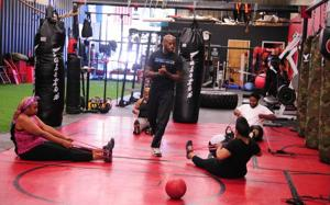 Trainer's fitness program focuses on caring for his clients' health
