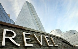 Revel Smoking: Revel casino in Atlantic City is seeking to restructure its enormous debt through a prepackaged Chapter 11 bankruptcy filing. (The Press of Atlantic City / Ben Fogletto)  - Photo by Ben Fogletto